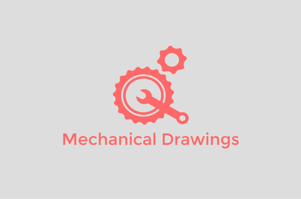 Mechanical Technical Drawing Samples